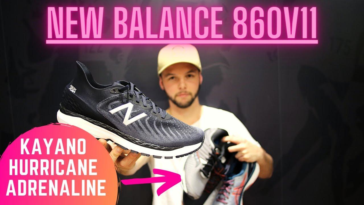 New Balance 860v11 Vs Asics, Saucony