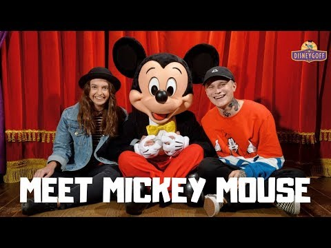 The most MAGIC meet with Mickey Mouse - Disneyland Paris