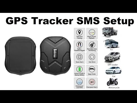 GPS Tracker Setup by SMS in Hindi(TKSTAR GPS )