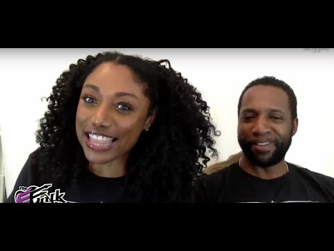 "Karyn White & Derrick Muhammad/ talking about their new movie ""GALE & THE STORM"" on Funk Chronicles."