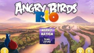 Angry Birds: Rio Market Mayhem (level 12) 3 stars. Прохождение от SAFa