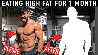 1350 Calories of FAT EVERY DAY for 3 WEEKS... The Consequences (Physique Update) | Lex Fitness