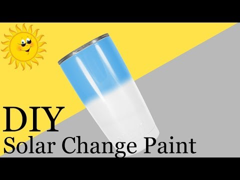 DIY | UV Color Changing Painted Tumbler