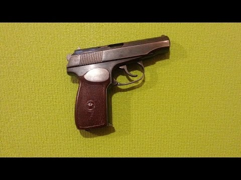 ПМ пистолет Макарова: полная разборка и сборка