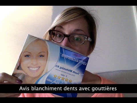 avis sur le blanchiment des dents goutti res youtube. Black Bedroom Furniture Sets. Home Design Ideas