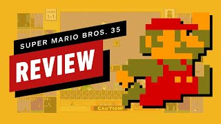 Super Mario Bros. 35 Review (Video Game Video Review)