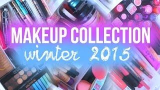 Makeup collection // Winter 2015 | Oliviagrace
