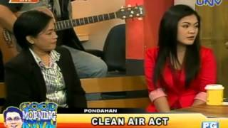 Pondahan on Clean Air Act (July 18, 2013)