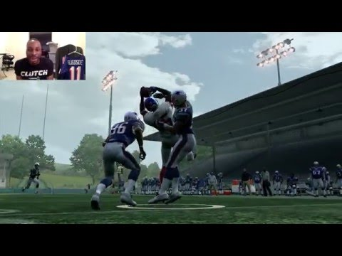 Can I Recreate the David Tyree Helmet Catch from Super Bowl XLII??? Tyree!! Madden Gameplay