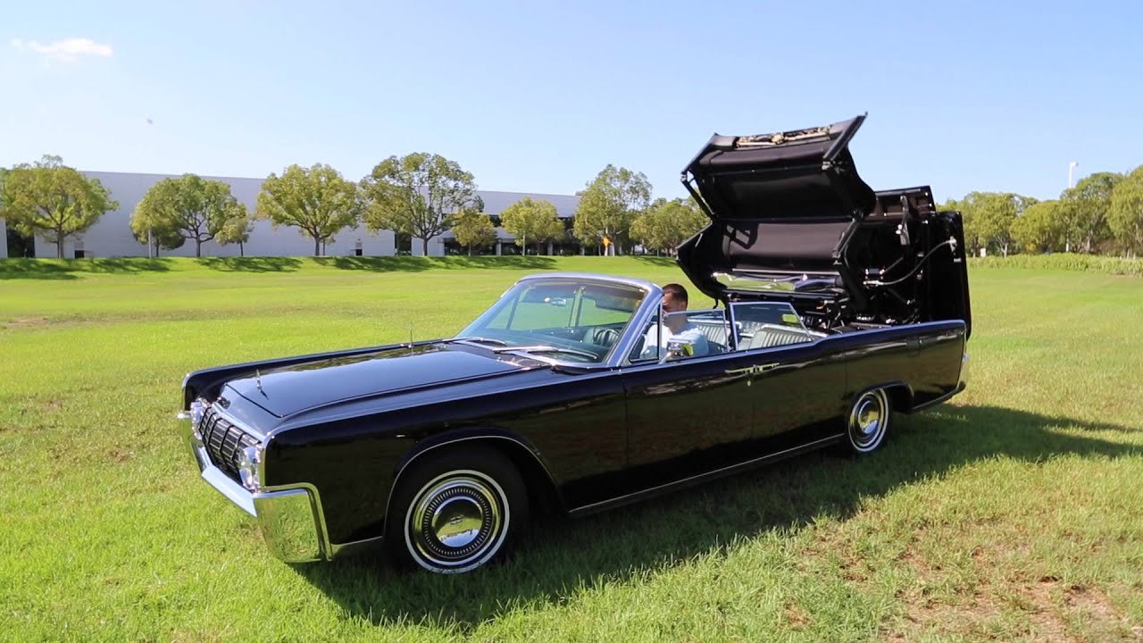1964 lincoln continental convertible for sale youtube. Black Bedroom Furniture Sets. Home Design Ideas