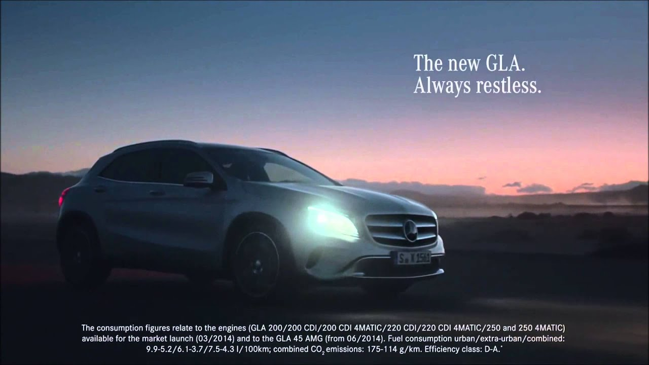 mercedes benz 2015 gla tv commercial the last time and