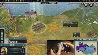Mouse Region Overview with Civ V | Steam Controller