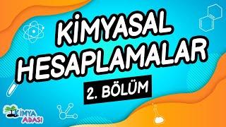 G4- KİMYASAL  HESAPLAMALAR - 2. Bölüm