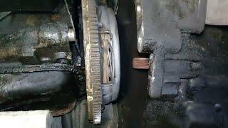 ВАЗ 2108-15 замена сцепления без помошника,с не полным снятием КПП.