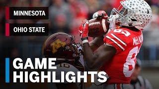 Highlights: Minnesota at Ohio State | Big Ten Football