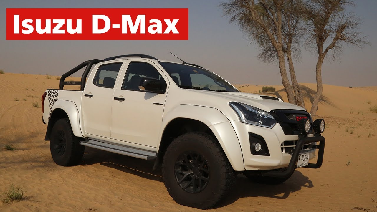 isuzu d max with arctic trucks modifications youtube. Black Bedroom Furniture Sets. Home Design Ideas