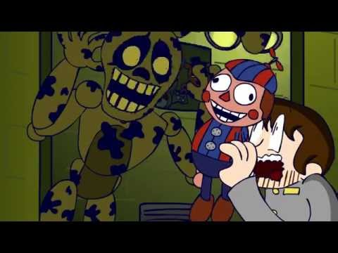Five Nights At Freddy's 3 Animation (Animated Short)