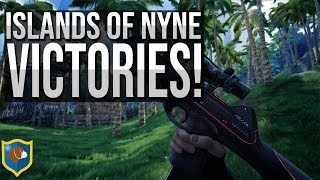 Islands of Nyne Battle Royale Easy Victory!