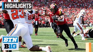 Highlights: Terp Offense Stays Hot vs. Orange | Syracuse at Maryland | September 7, 2019