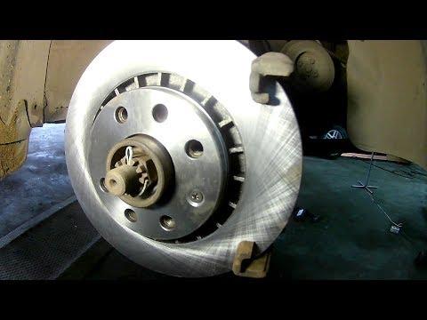 Тормозные диски с Lanos 14R на Opel Vectra A