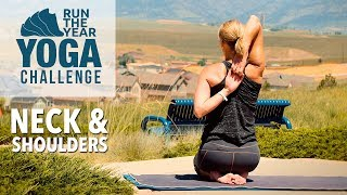 Shoulders, Neck & Upper Back: Run the Year Yoga Challenge with Five Parks Yoga