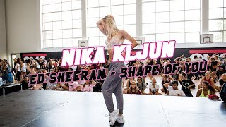 ■ Nika Kljun ■ Shape Of You ■ OMG Dance Camp 2017
