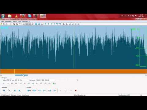 Lieder zurechtschneiden mit MP3DirectCut