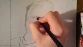 Drawing Colonel Sanders (Speed art/Time lapse)