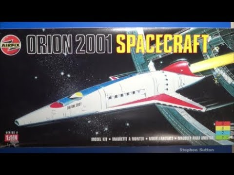 Airfix 2001 Orion Spacecraft Kit Review SMKR YouTube