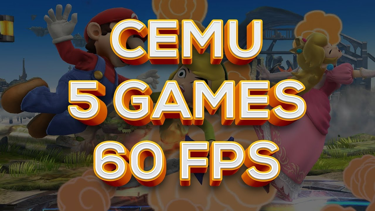 how to play games on cemu