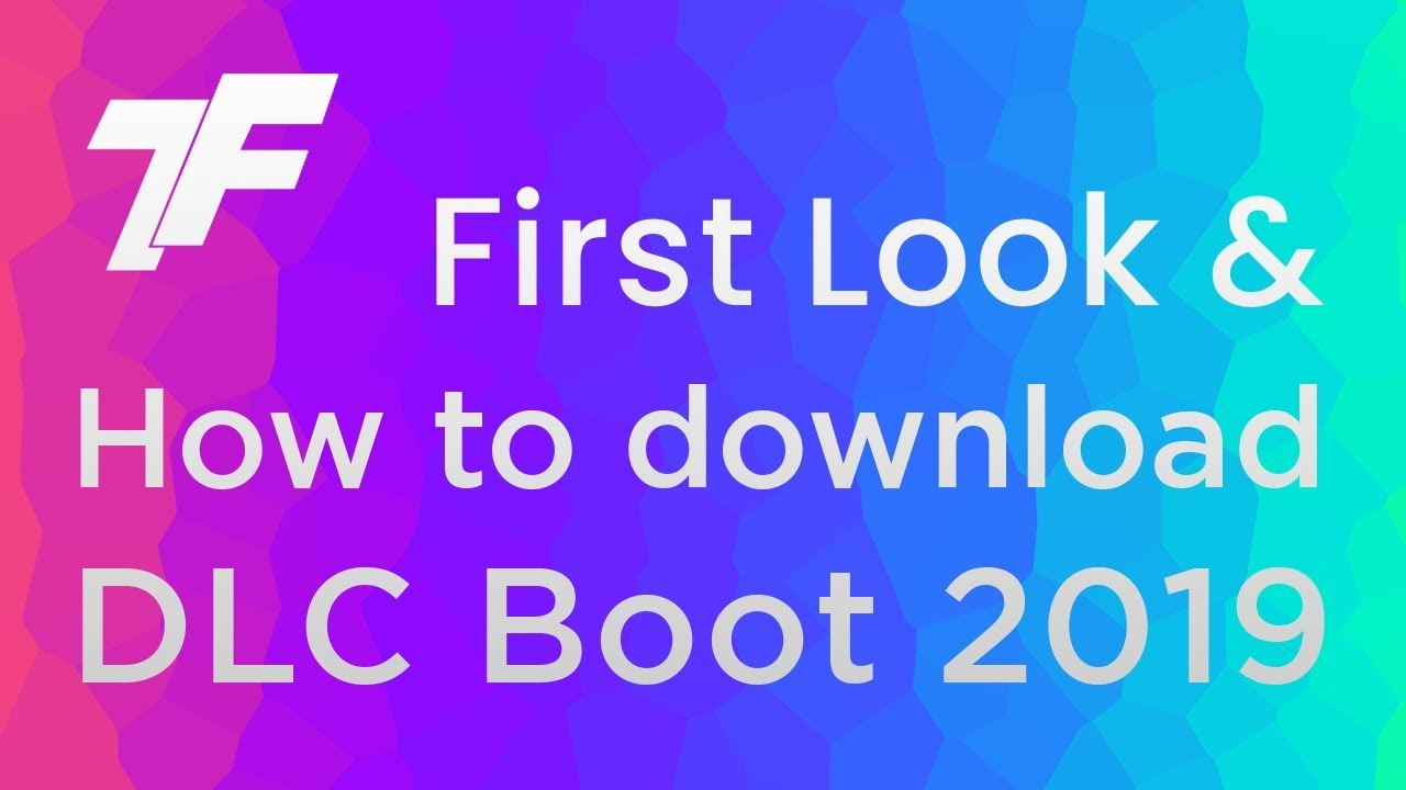 How to download DLC Boot 2019 for free (With Firstlook) - YouTube