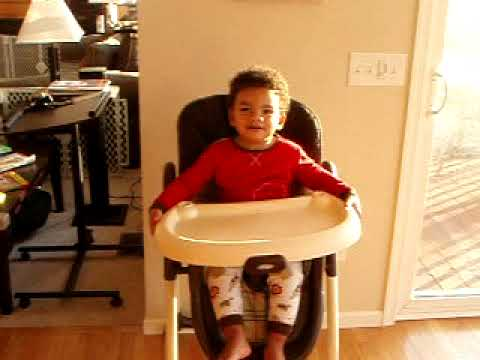 Two Year Old Escapes From High Chair Youtube