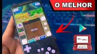 Saiu O FANTASTICO EMULADOR DE 3DS para ANDROID na GOOGLE PLAY