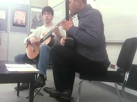 Denis Azabagic teaches Madronos by Federico Morreno Torroba