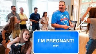 Pregnancy Announcement to Family!!!