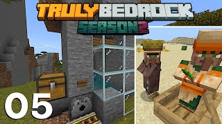 Villager Breeder + SAVING One Day And RUINING Another | Truly Bedrock S2 EP5