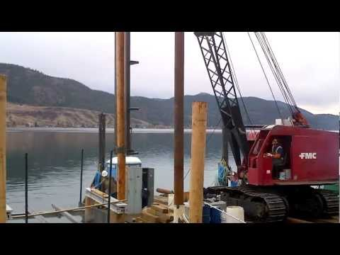 Burton Marine Pile Driving video of the day
