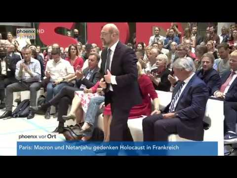 Martin Schulz über die Europa- und Wirtschaftspolitik am 16.07.17