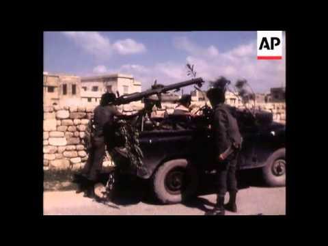The Israeli Invasion (A)