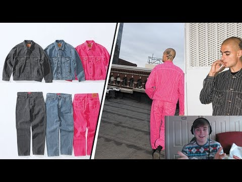 Supreme SS18 Week 14 - Levi Collab Thoughts