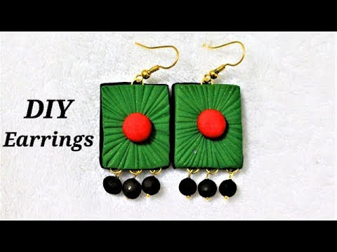 Polymer Clay Tutorials | DIY Easy To Make Polymer Clay Earrings