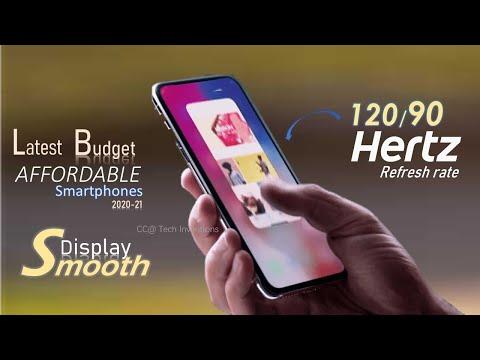 TOP 5 Budget 90/120 Hz Refresh Rate smartphones of 2020-21