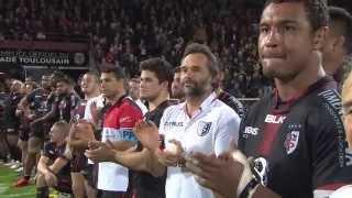 L'hommage du Stade Toulousain à Guy Noves