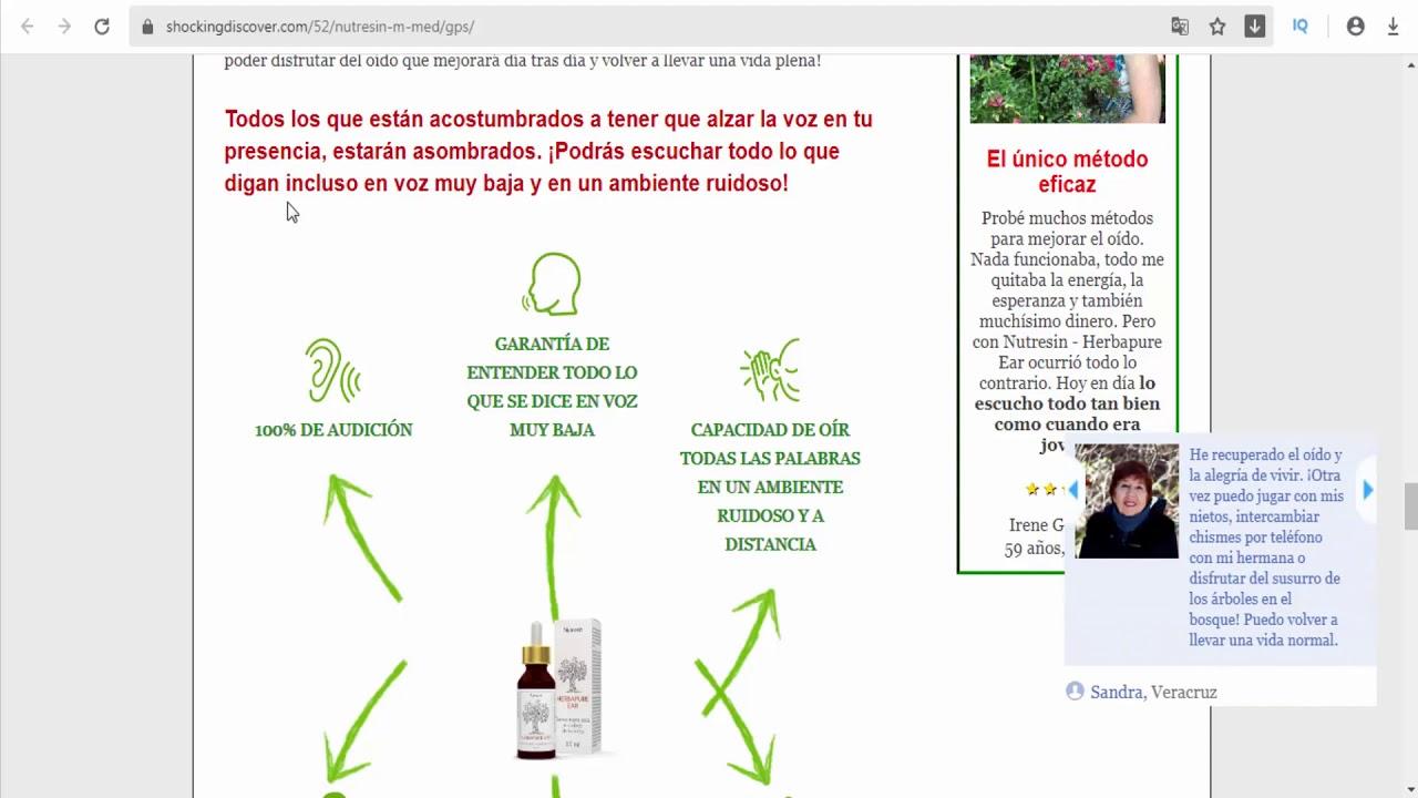 Nutresin MX - Mexico - hearing