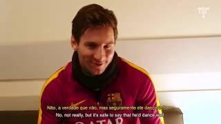 Exclusive Interview with Lionel Messi. Reveals Who is Best Ronaldinho or Neymar?