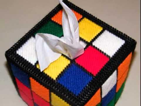 Big Bang Theory Rubiks Cube Tissue Box Cover Youtube
