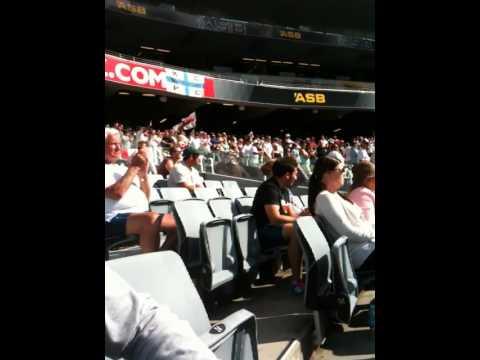 Barmy Army in New Zealand: BJ Watling wicket + Super Steven Finn 2013