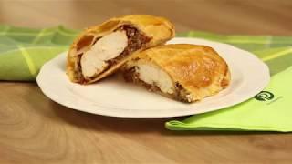 Recept: Piščančje prsi v listnatem testu thumbnail