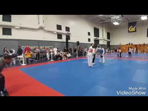 48th Annual UC Berkeley Open Taekwondo Championships (Joshua vs Francis) 4/29/17