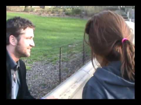 Gerard Butler in Central Park!